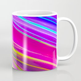 neon saturn waves Coffee Mug