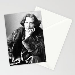 The Picture of Oscar Wilde Stationery Cards