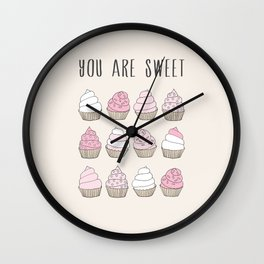 You are sweet Wall Clock