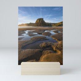Piha Beach, New Zealand Mini Art Print