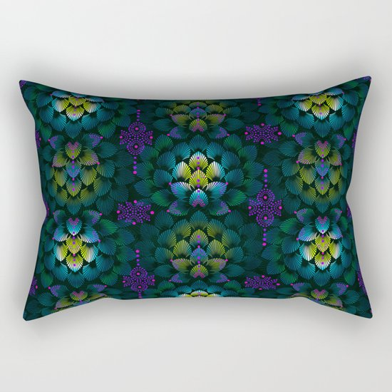 Variations on A Feather IV - Stars Aligned (Primeval Edition) Rectangular Pillow
