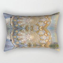 Akashic Mandalandscape Rectangular Pillow