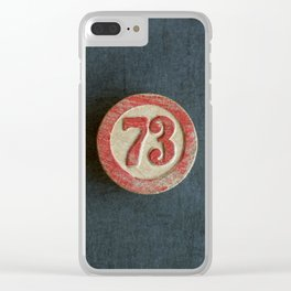 Seventy Three Clear iPhone Case