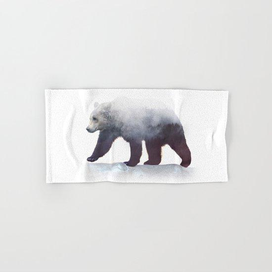 Wild Bear Hand & Bath Towel