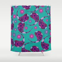 paisley Shower Curtains featuring Paisley by luizavictoryaPatterns