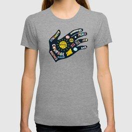 Positivity – Helping Hand T-shirt