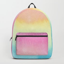 Pansexual Watercolor Wash Backpack