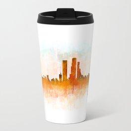 Bogota City Skyline Hq V3 Travel Mug