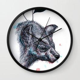 Wolf?Hyena? Wall Clock