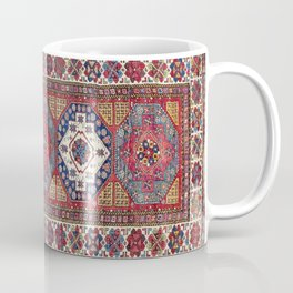 Shahsavan Azerbaijan Antique Tribal Persian Rug Coffee Mug