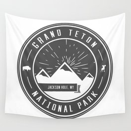 Grand Teton National Park Wall Tapestry