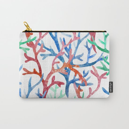 Sea Life Pattern 03 Carry-All Pouch