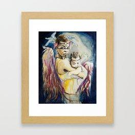 Mother Mary. Tribal Edition. Framed Art Print