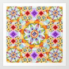 Avalon Mandala Art Print
