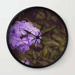 Flower Photography by Jean Vasquez Wall Clock