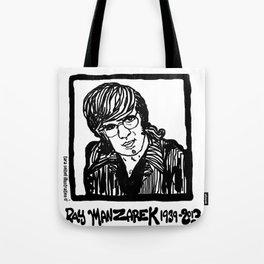 Ray Manzarik  Tote Bag