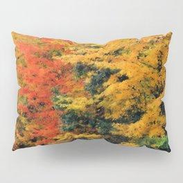 Massachusetts - Autumn Colors Pillow Sham