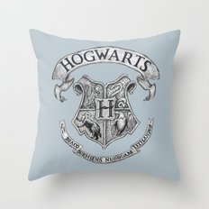 Hogwarts Throw Pillow