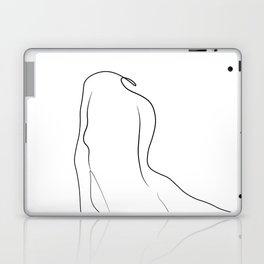 Woman One Line Laptop & iPad Skin