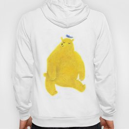 """Un ours invite..."" Book cover Hoody"