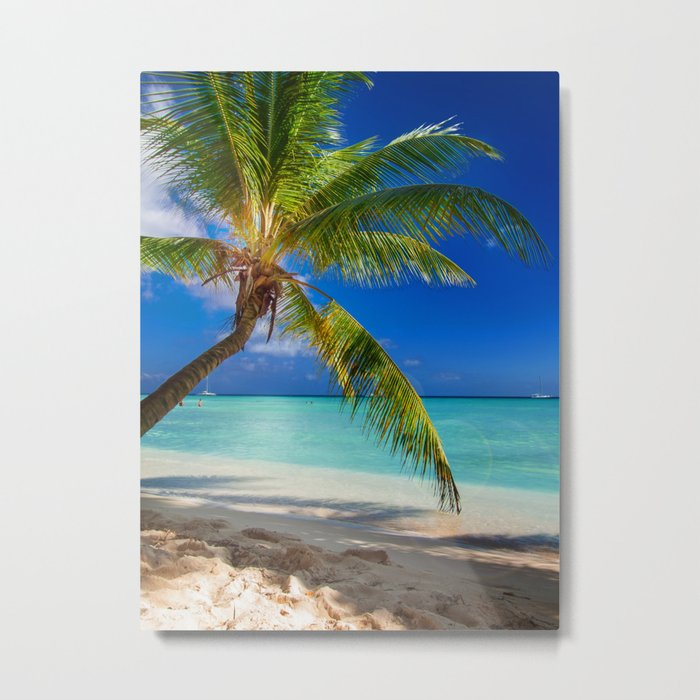 Domenicana beach Metal Print