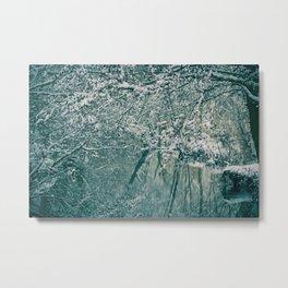 Winter river No. 2 Metal Print