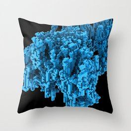 Cellular Automata 02 Throw Pillow