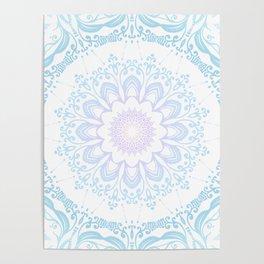 winter sun Mandala Poster