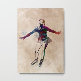 figure skating #skating #figureskating #sport Metal Print