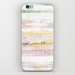 Baby powder abstract watercolor iPhone Skin