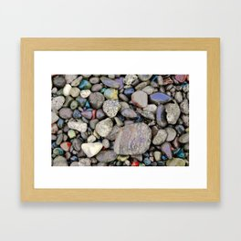 Soulful Stones Framed Art Print