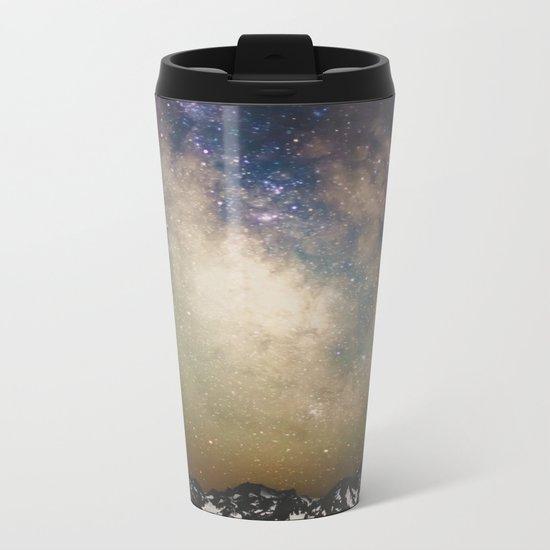 Erupting Galaxy Metal Travel Mug