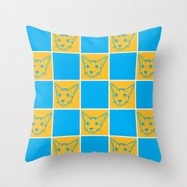 Cool Kiki Throw Pillow