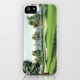 Winged Foot Golf Course New York iPhone Case