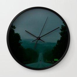 Entering Lake George Wall Clock