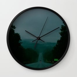 Entering Lake George Wall Clock