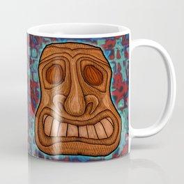 Wood Gain Glass Coffee Mug