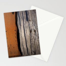 Rust & Old Wood Stationery Cards