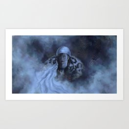 Edelstahl Art Print