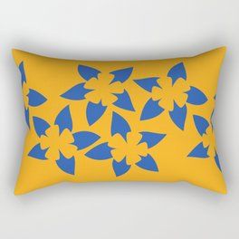 Rocky Mountain Columbine (Sunrise) Rectangular Pillow