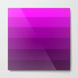 Deep Purple Violet - Color Therapy Metal Print