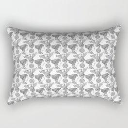 Empire Style Pattern Rectangular Pillow
