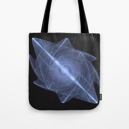Sacred Energy Crystal of the Throat Chakra Tote Bag