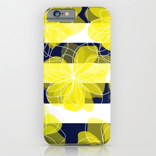 Camelia Stripes iPhone & iPod Case
