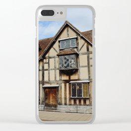 William Shakespeare's Birthplace Clear iPhone Case