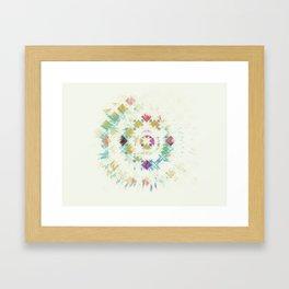 Burst. Framed Art Print