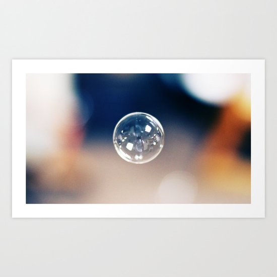 One Bubble Art Print