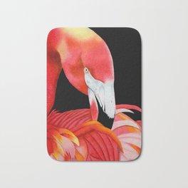 Flamingo Portrait Bath Mat