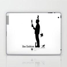 One Sixth Ism (Black Statue) Laptop & iPad Skin