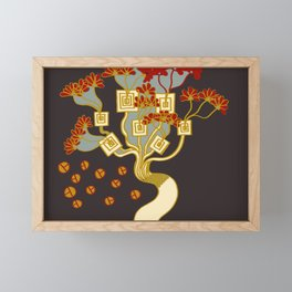 TREE OF PROSPERITY Framed Mini Art Print